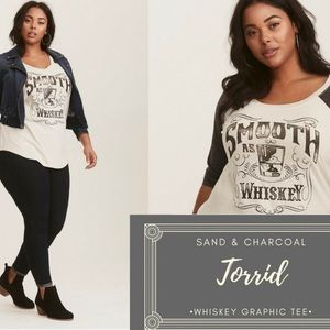 """Torrid """"Smooth as Whiskey"""" Super soft t"""
